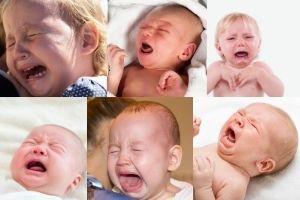 Baby-Weinen