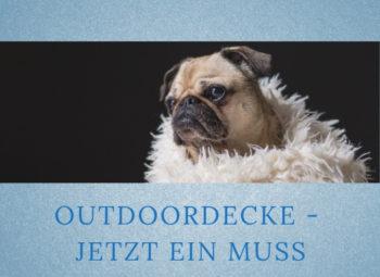 Lernpfote-Podcast Themen rund um den Hund Folge 007: Outdoordecke - jetzt ein Muss
