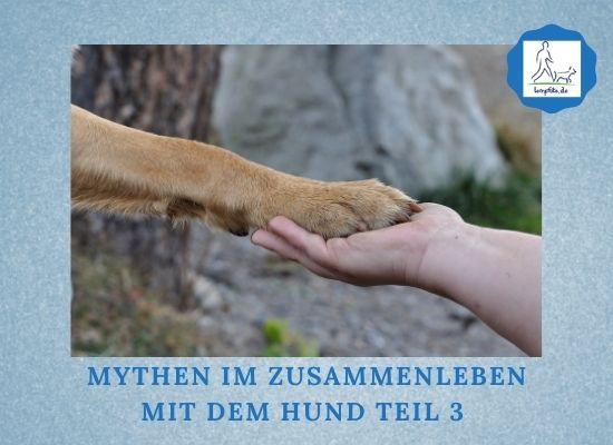 Lernpfote e. V. Podcast-Folge 074 Mythen im Zusammenleben mit dem Hund Teil 3
